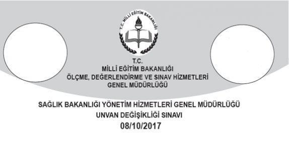 Genel Müdürlüğümüzce 08 10 2017 tarihinde yapılan Sağlık Bakanlığı Yönetim