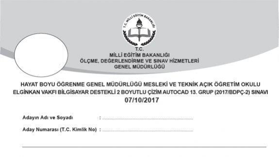Genel Müdürlüğümüzce 07 10 2017 tarihinde Yapılan Elginkan Vakfı Bilgisayar